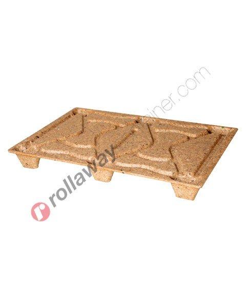 Pallet Inka in legno pressato 800 x 1200 mm serie super leggera