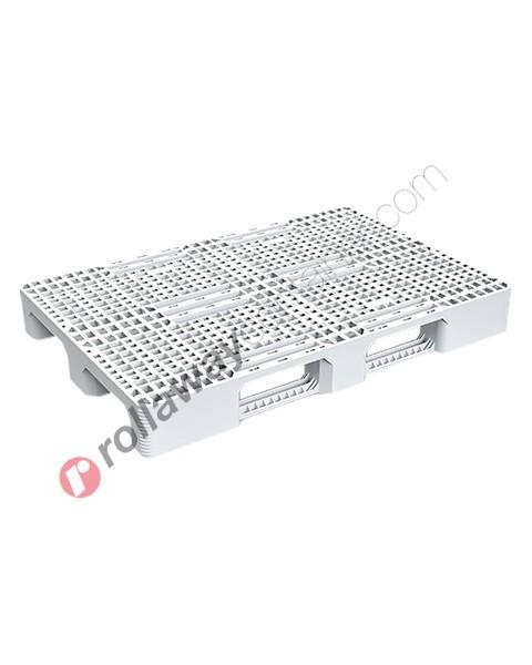 Pallet in plastica HDPE industriale e alimentare mm 800 x 1200
