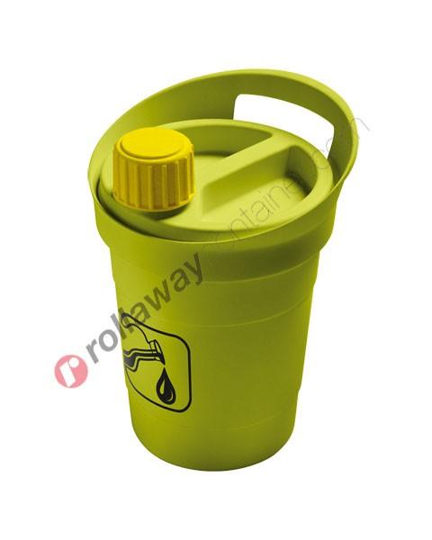 Raccoglitore olio esausto vegetale domestico da litri 3