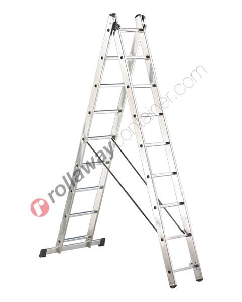 Scala allungabile a 2 rampe semiprofessionale Universal