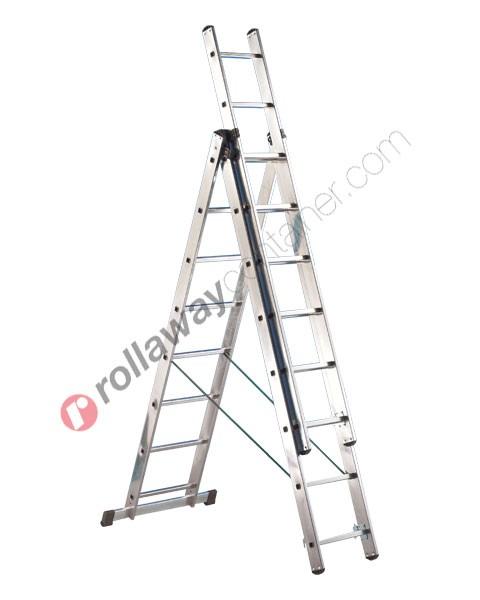 Scala allungabile a 3 rampe semiprofessionale Universal