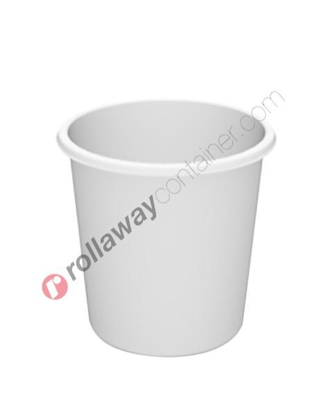 Serbatoio per alimenti e prodotti chimici liquidi polietilene verticale cilindrico tutta bocca aperto