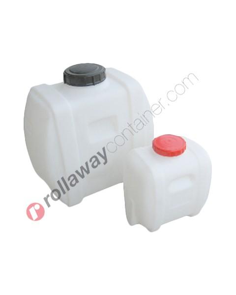 Serbatoio per alimenti e prodotti lattiero caseari in polietilene a forma di tanica