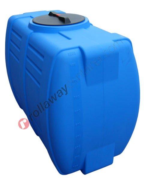 Serbatoio acqua passaporta orizzontale compatto da 1000 litri