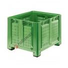 Bins in plastica 1200 x 1000 H 760 pesante litri 680 forato