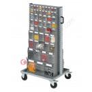 Carrello Smart 073 con cassettiere portaminuteria