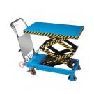 Carrello sollevatore a pantografo doppio professionale Fervi portata Kg 350