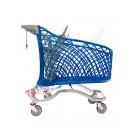 Carrello spesa supermercato Super Hybrid 180 litri