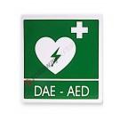Cartello per teca per defibrillatore 290x360 mm