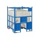 Cisterna in plastica a norma ADR/IMDG omologata UN 1000 litri
