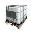 Cisternetta IBC 1000 lt per alimenti omologata ADR con pallet in legno