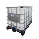 Cisternetta IBC 1000 lt per alimenti con pallet in plastica