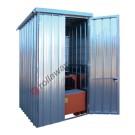 Deposito di stoccaggio in acciaio zincato 1750 x 1945 x 2730 mm
