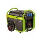 Generatore di corrente Pramac con AVR 6000 VA monofase a benzina avviamento elettrico PX8000