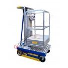 Piattaforma di sollevamento compatta portata 200 kg Microlift Z - T con protezioni laterali