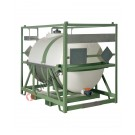 Serbatoio IBC da trasporto a norma ADR/IMDG omologato UN 1900 litri