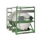 Serbatoio IBC da trasporto a norma ADR/IMDG omologato UN 2400 litri
