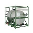 Serbatoio IBC da trasporto a norma ADR/IMDG omologato UN 3000 litri