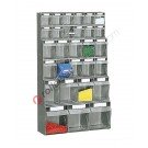 Telaio da parete con cassettiere altezza 1000 mm