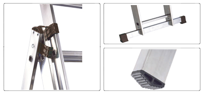 Accessori scala allungabile a 2 rampe semiprofessionale Universal