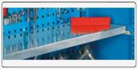 Ripiano regolabile 995x480 H 35 mm zincato portata 50 kg