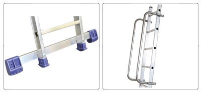 Accessori scala da appoggio professionale alta gamma De Luxe