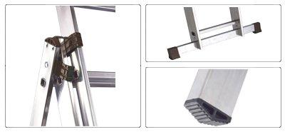 Accessori scala allungabile a 3 rampe semiprofessionale Universal