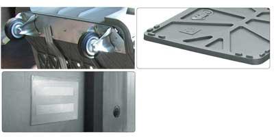 Accessori per contenitore in plastica 1020 x 640 H 580 medio litri 300 forato