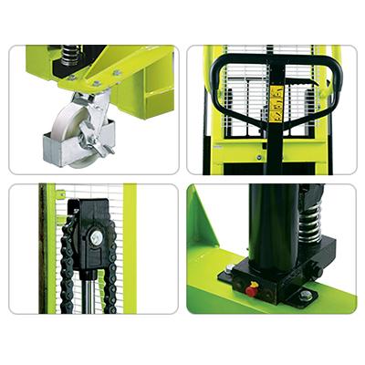 Dettagli carrello elevatore manuale Kg 500 Pramac MX 1150 x 740 mm